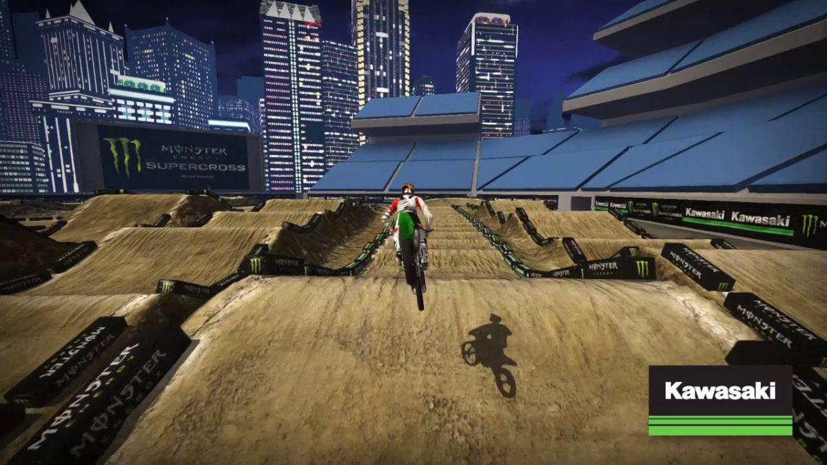 AMA Supercross 2017: San Diego Kawasaki rajatutvustus