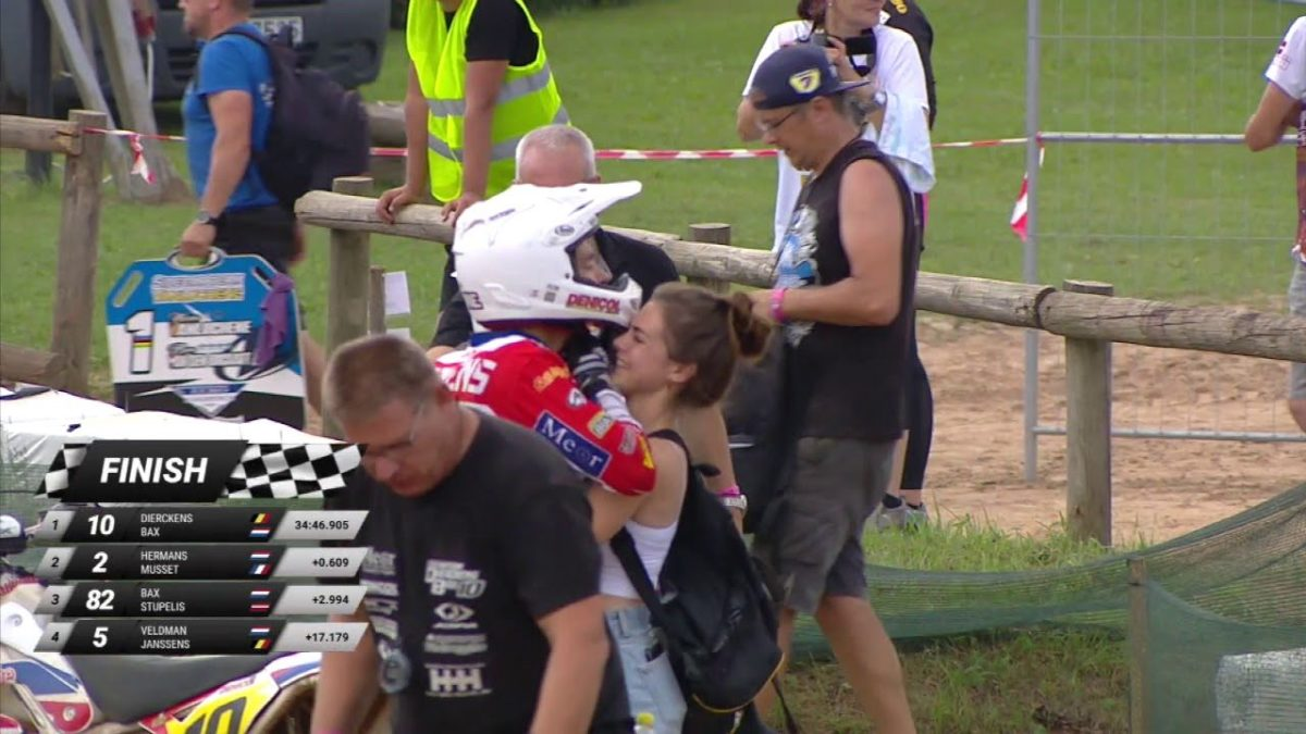 Sidecarcross World Championchip Latvian, Stelpe races video – WSC sidecarcross