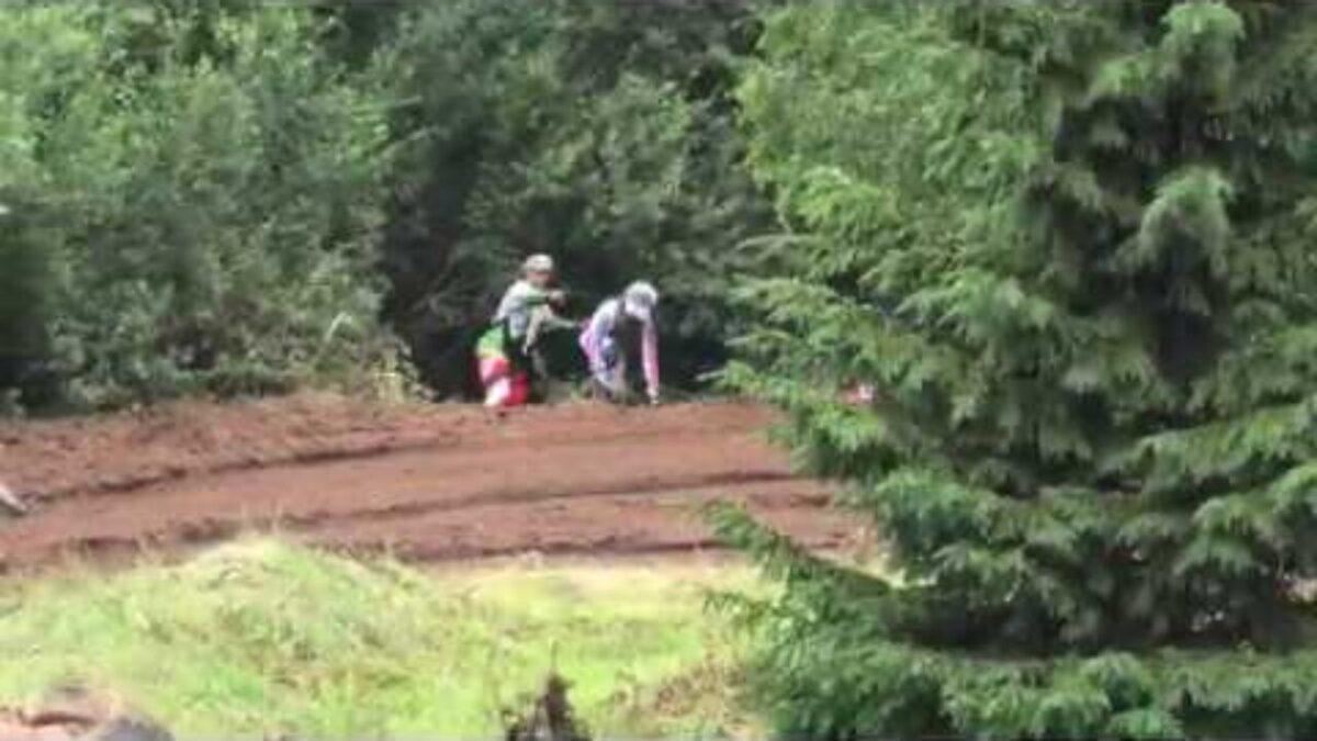 Egert Pihlaku rajalt väljasõidu tagajärg Karksi-Nuia motokrossil 2020
