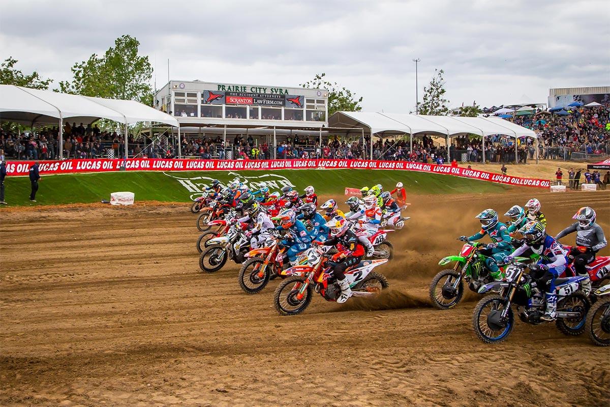 Lucas Oil AMA Pro Motocross Championship 2020 kalender