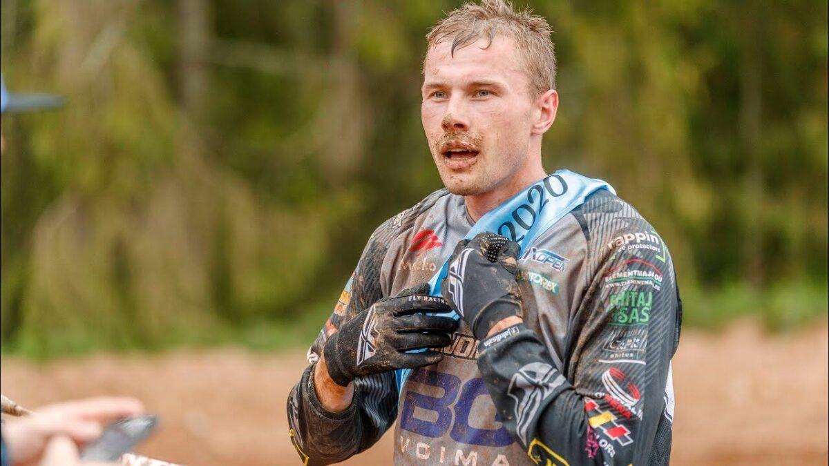 Andero Lusbo, Castrol Motokrossi Eesti Meistrivõistlused, Karksi-Nuias 2020
