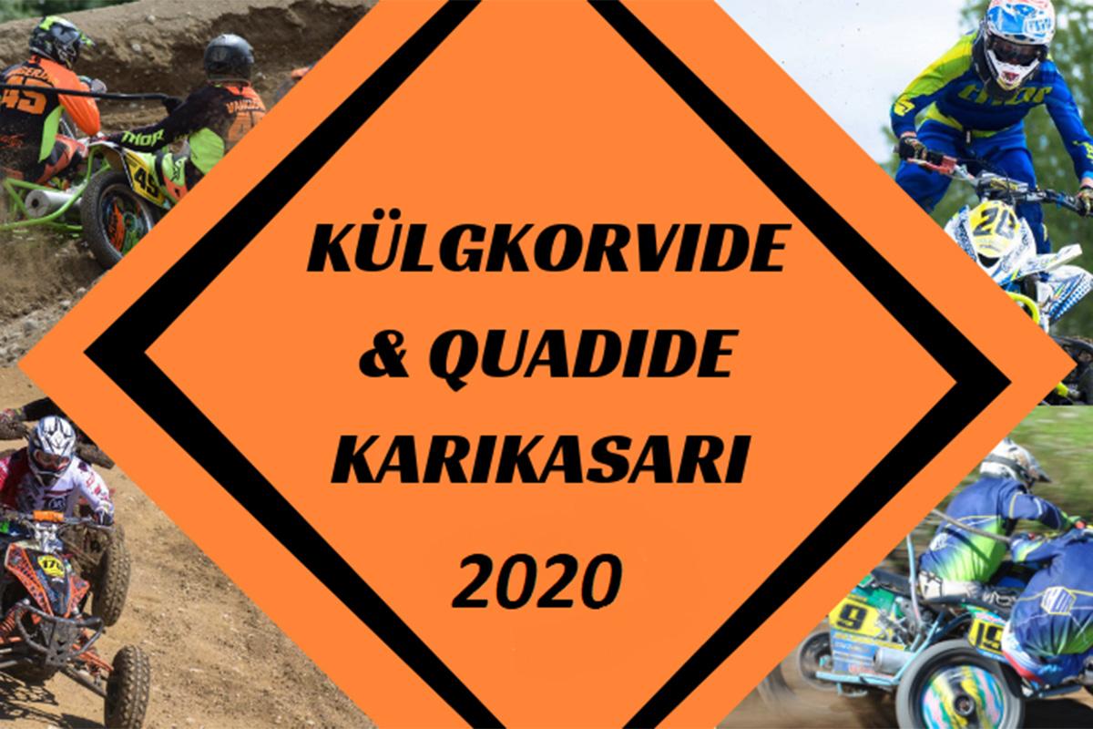 Äksi motokross – Külgkorvide & Quadide Karikasari 2020 3. etapp