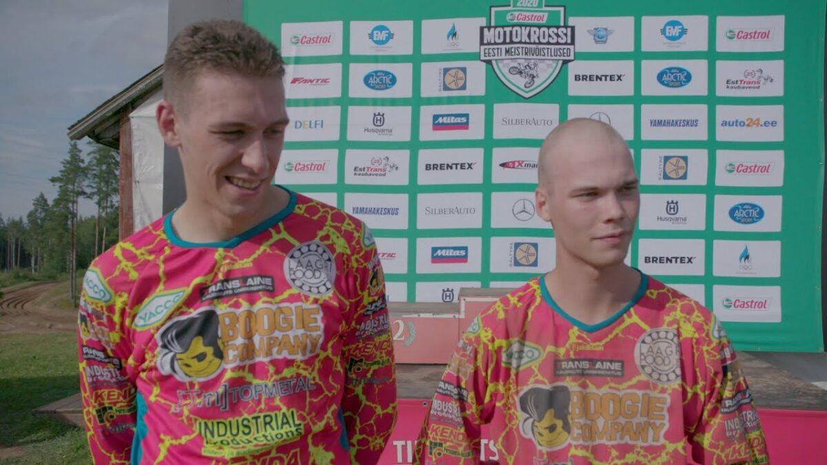 Markus Normak ja Karl Markus Kasesalu, Castrol Eesti meistrivõistlused II etapp Tihemetsa 2020