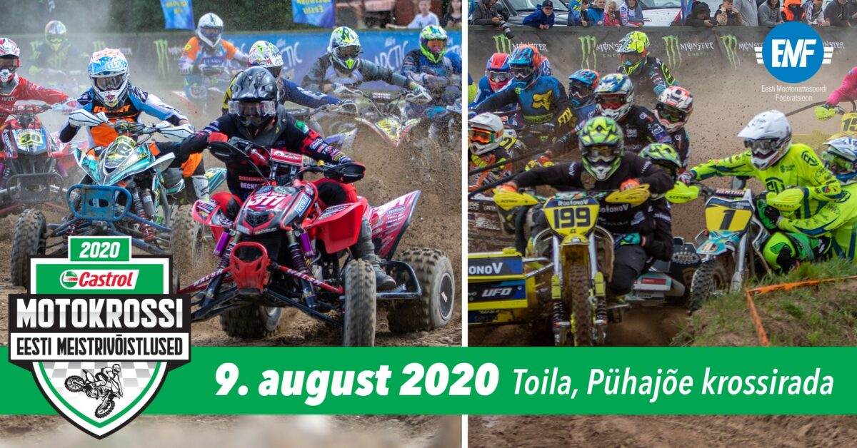EMV 2020 külgvankrite ja quadide Toila etapi info