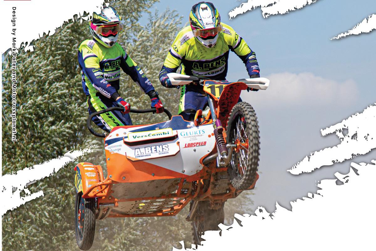 Hollandi külgvankrite motokrossi meistrivõistluste Berghem-i etapi tulemused, pildid ja videod
