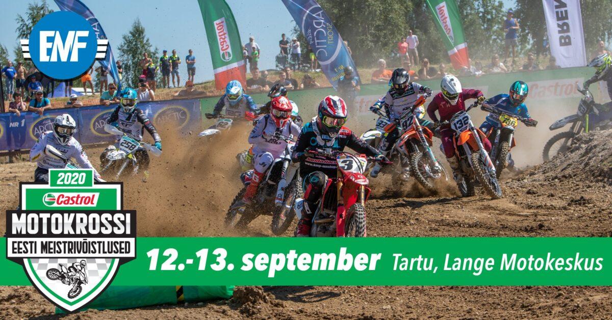 Soolo ja külgvankrite ning quadide Eesti motokrossi meistrivõistlused Langel