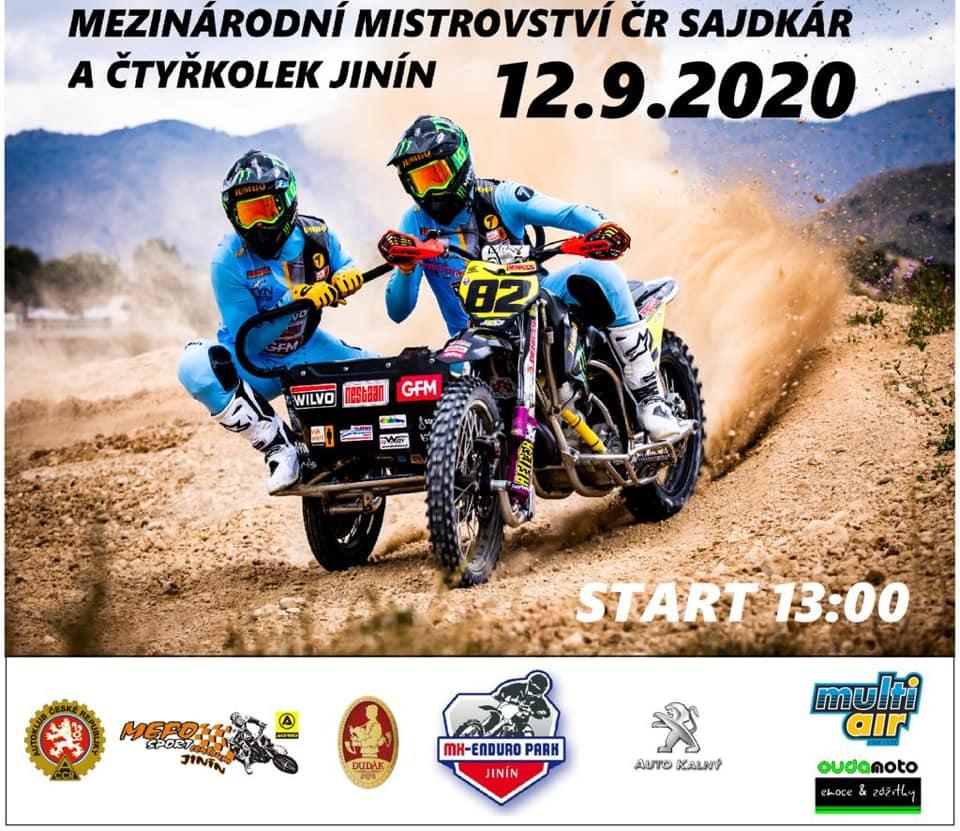 Tšehhi külgvankrite motokrossi meistrivõistluste Jinín-i etapi tulemused, pildid ja videod