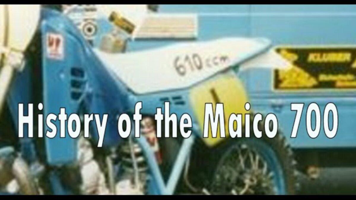 Maico ja Zabel külgvankrite motokrossi ajalugu