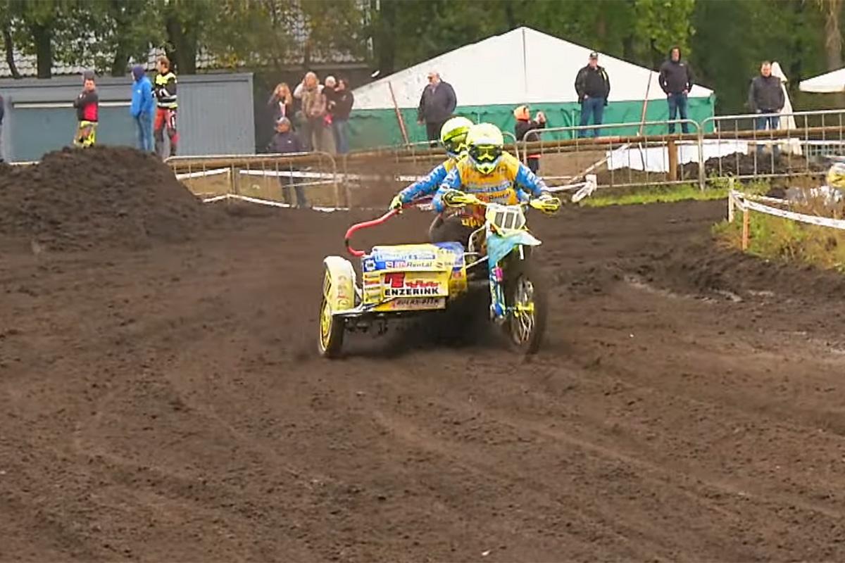 Enneaegselt kuulutati lõppenuks ka Hollandi külgvankrite motokrossi meistrivõistlused