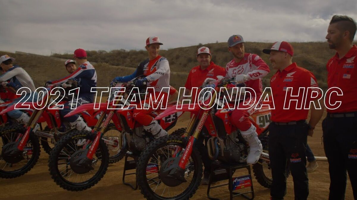 Honda HRC 2021 AMA Supercross tiimi esitlus