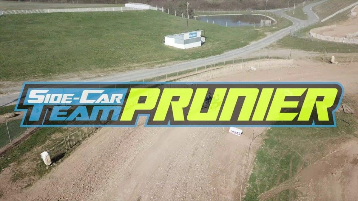 Külgvankrite motokrossi tiimi Prunier 2021 treeningvideo